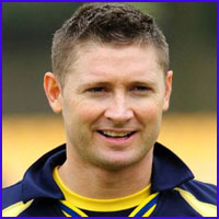 Michael Clarke career, test career, batting style and also information