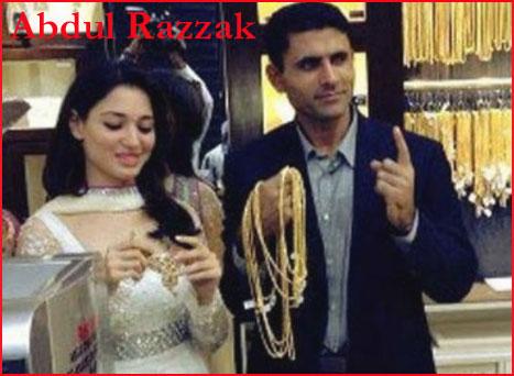 Abdul Razzaq wife