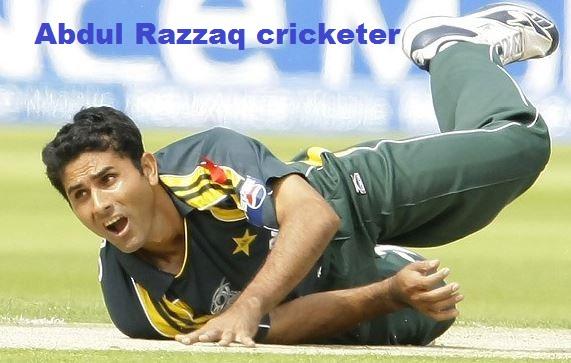Abdul Razzaq cricketer