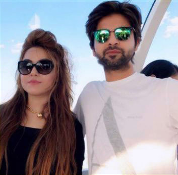 Ahmed Shehzad wife