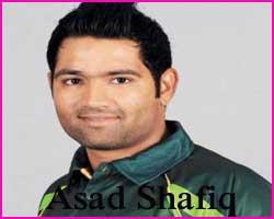 Asad Shafiq Cricketer, Batting career, batting and bowling average
