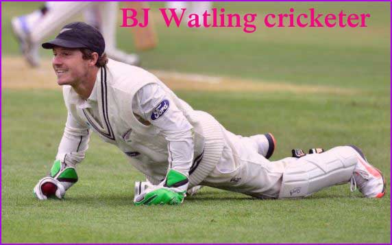 BJ Watling cricketer