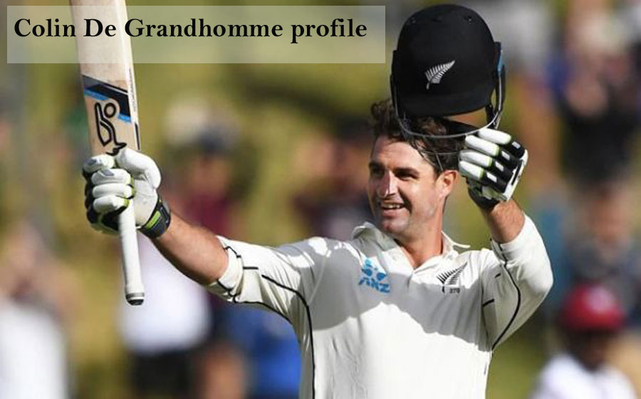 Colin de Grandhomme Batting career, wife, age, family, height and so