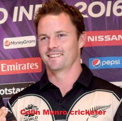 Colin Munro cricketer