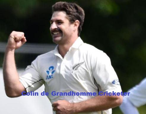Colin de Grandhomme cricketer