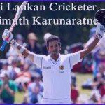 Karunaratne cricketer Sri Lankan