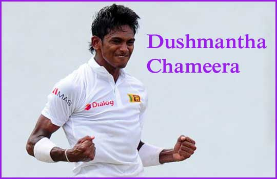 Dushmantha Chameera Batting career batting and bowling average