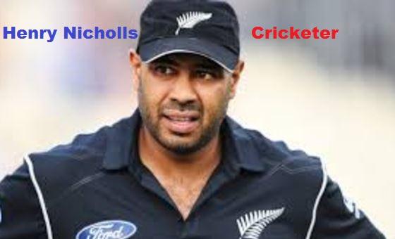 Henry Nicholls cricketer