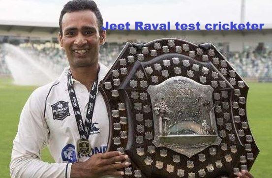 Jeet Raval cricketer