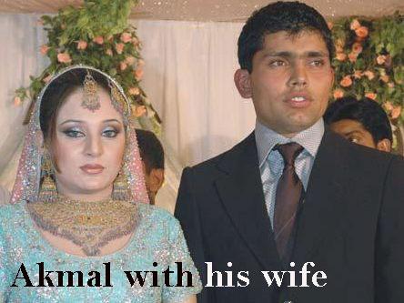 Kamran Akmal's wife