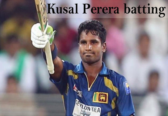 Kusal Perera Batting career, biography, family, wife and more