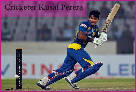 Kusal Perera batting