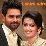 Lahiru wife image