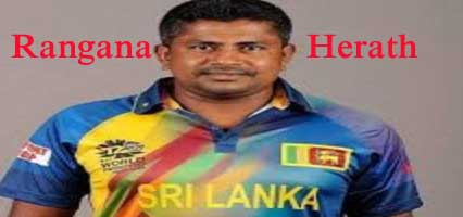 Rangana Herath Batting career batting and bowling average