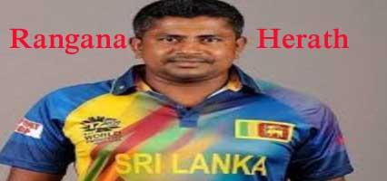 Rangana Herath Batting career batting and bowling average