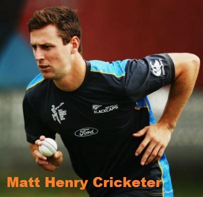 Matt Henry cricketer