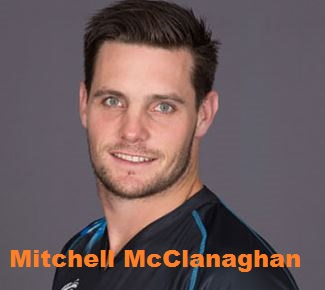 Mitchell McClanaghan Cricketer,  international career, bowling average