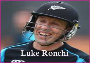 Luke Ronchi Cricketer, Batting career, batting and bowling average