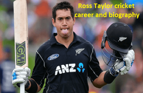 Ross Taylor Cricketer, wife, age, family, height and more