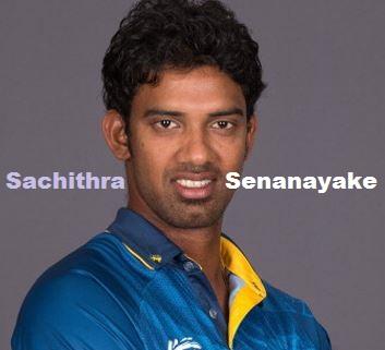 Sachithra Senanayake Batting career batting and bowling average