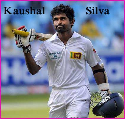 Kaushal Silva Batting career batting and bowling average