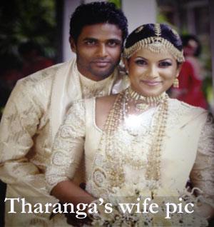 Tharanga's wife