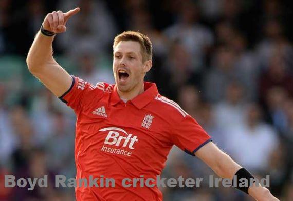 Boyd Rankin cricketer