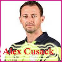 Alex Cusack Cricketer, bowling career, height, family, and bowling average