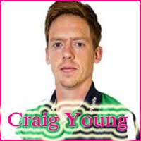 Craig Young Cricketer, cricket career, height, age, and bowling average