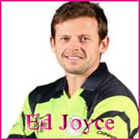 Ed Joyce Cricketer, Batting career, batting and bowling average