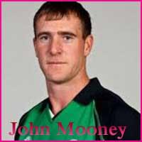 John Mooney Cricketer, Batting career, batting and bowling average