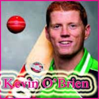 Kevin O Brien Cricketer, Batting career, batting and bowling average