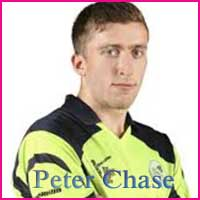 Cricketer Peter Chase