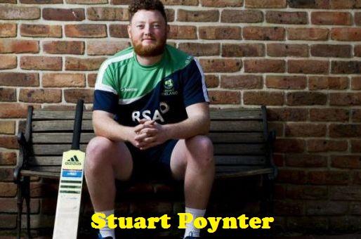Cricketer Stuart Poynter