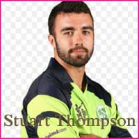 Stuart Thompson Cricketer, age, height, wife and bowling average