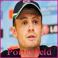 William Porterfield Cricketer, Batting career, height, age, batting average