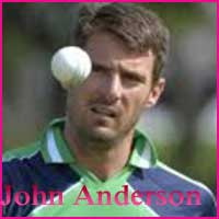 John Anderson Cricketer, Batting career, batting and bowling average