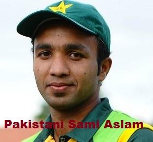 Sami Aslam Cricketer, Batting career, batting and bowling average
