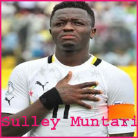 Footballer Sulley Muntari
