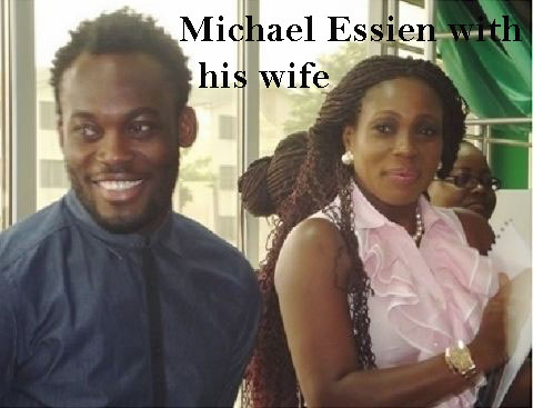 Michael Essien's wife