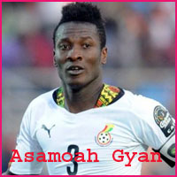 Asamoah Gyan player profile from livesportworld.com