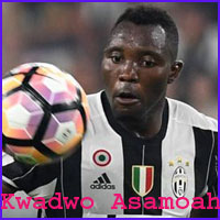 Kwadwo Asamoah player profile height, family, from livesportworld.com