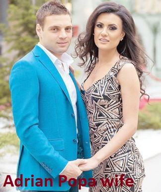 Adrian Popa wife