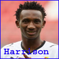 Harrison Afful player, height, wife, family, profile and club career