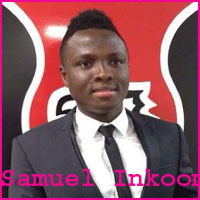 Samuel Inkoom height, wife, family, profile and club career