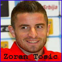 Zoran Tosic player, height, wife, family, profile and club career