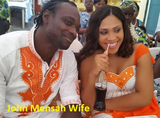 John Mensah wife photos
