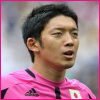 footballer Shuichi Gonda