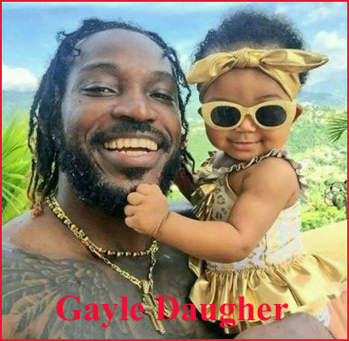 Chris Gayle Daughter