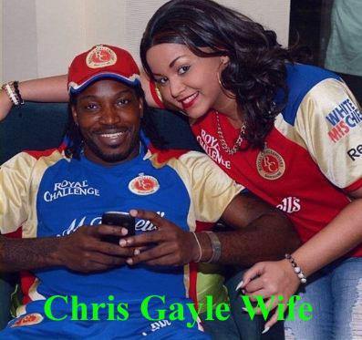 Chris Gayle wife